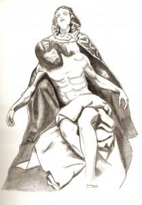 Dibujo de J Bregante
